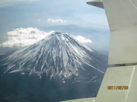平成23年2月3日羽田から福岡飛行機 006
