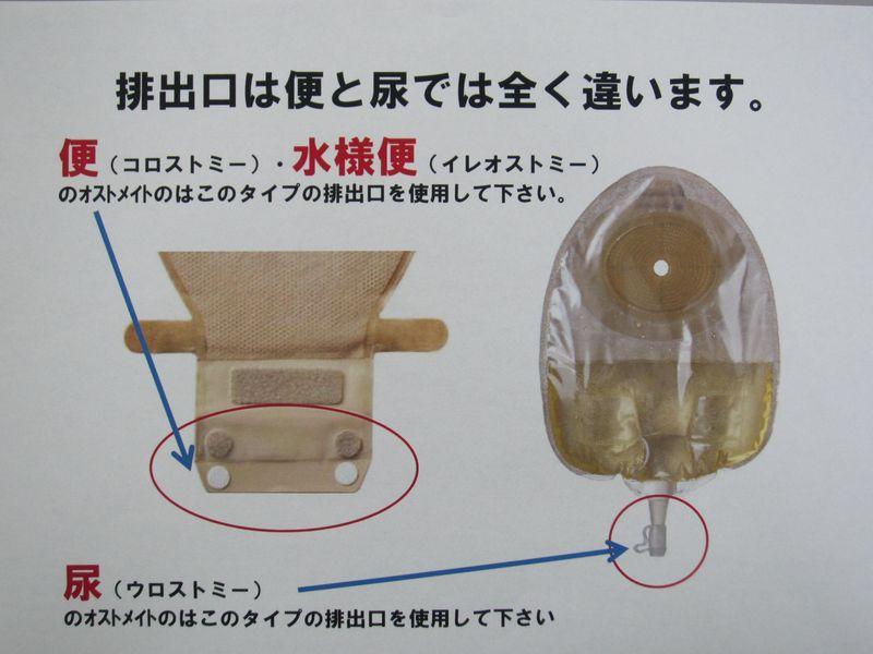 ストーマ装具の種類 009