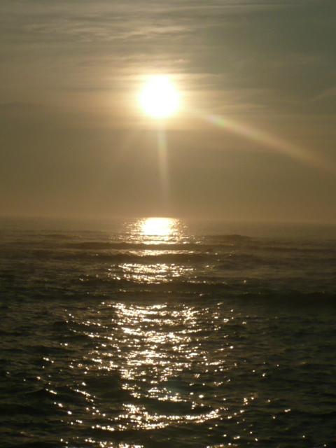 19年8月日種市海と朝日 031