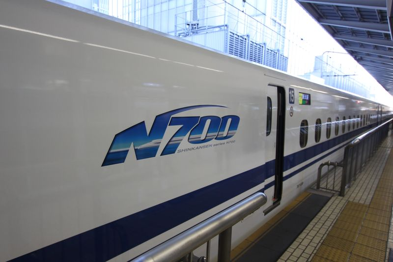 21年12月20日新幹線N700系 002
